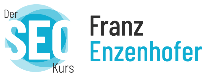 Der SEO Kurs www.franz-enzenhofer.com Logo